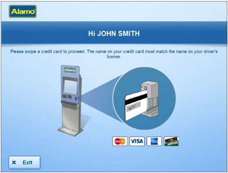 Credit Card for Car Hire Deposit